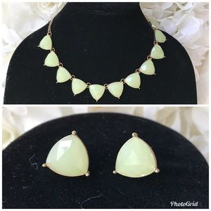 Jewelry - Statement Necklace with matching earings